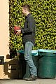 taylor kitsch gets ready for super bowl on true detective set 29
