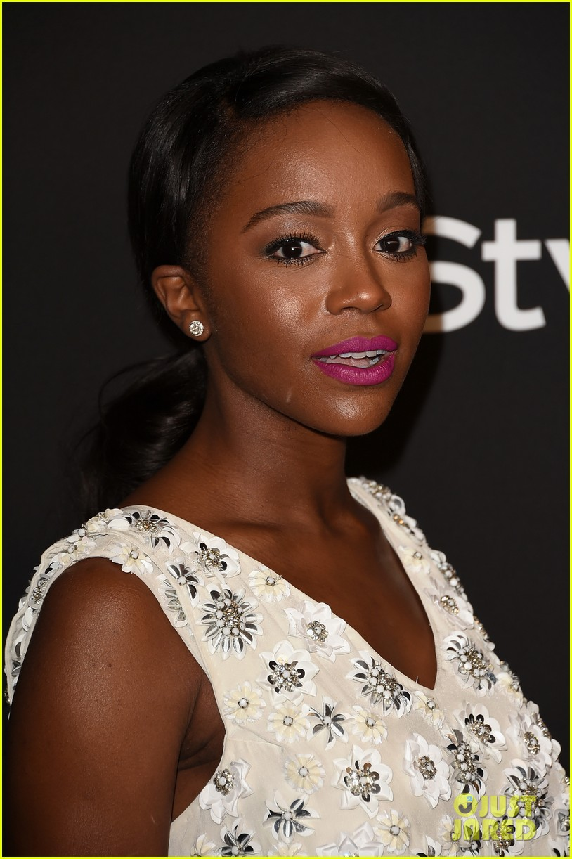 'how To Get Away With Murder' Cast Takes On Golden Globes!: Photo 3279114   2015 Golden Globes Parties, Aja Naomi King, Alfred Enoch, Charlie Weber,
