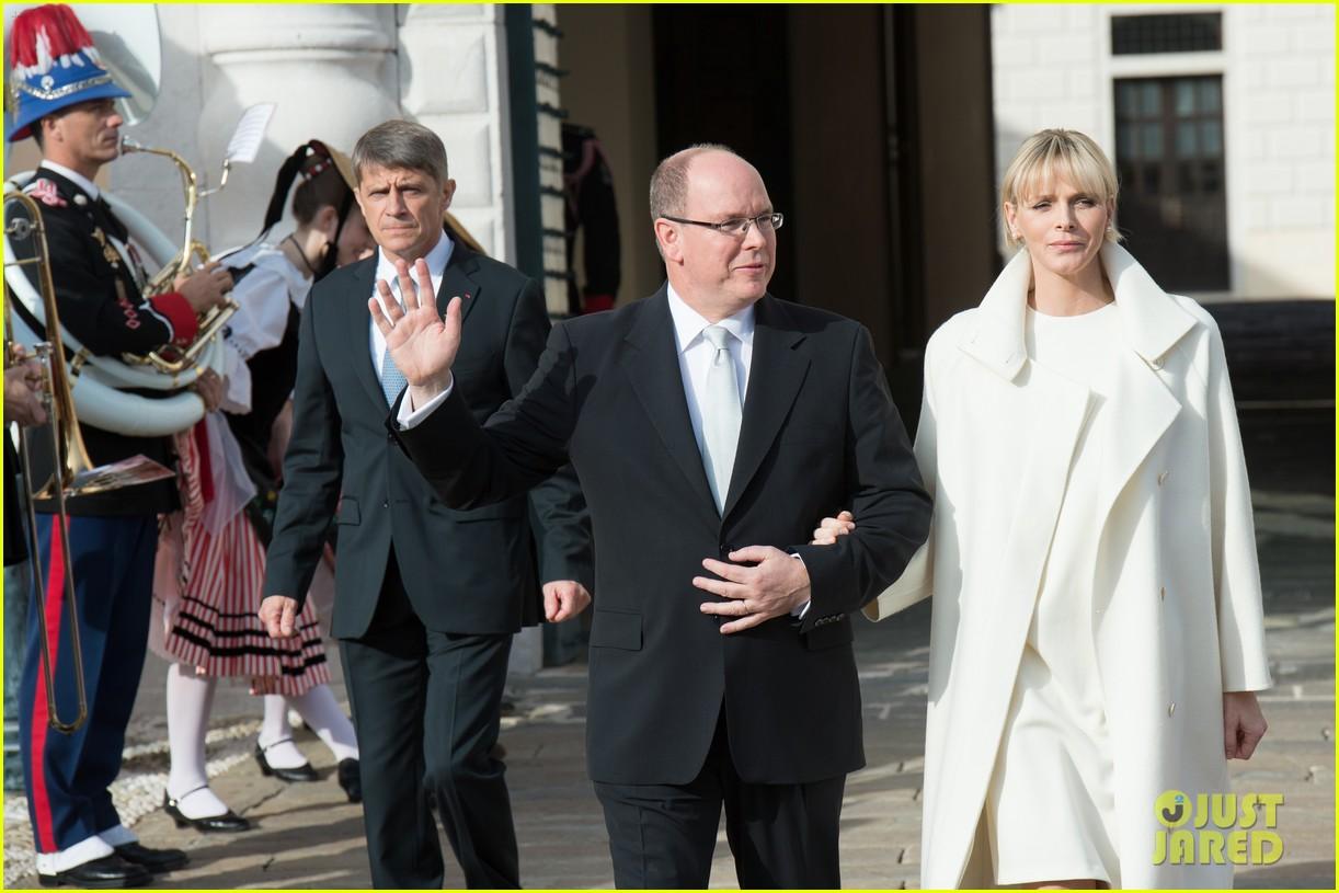 princess charlene prince albert debut their twins 053274335