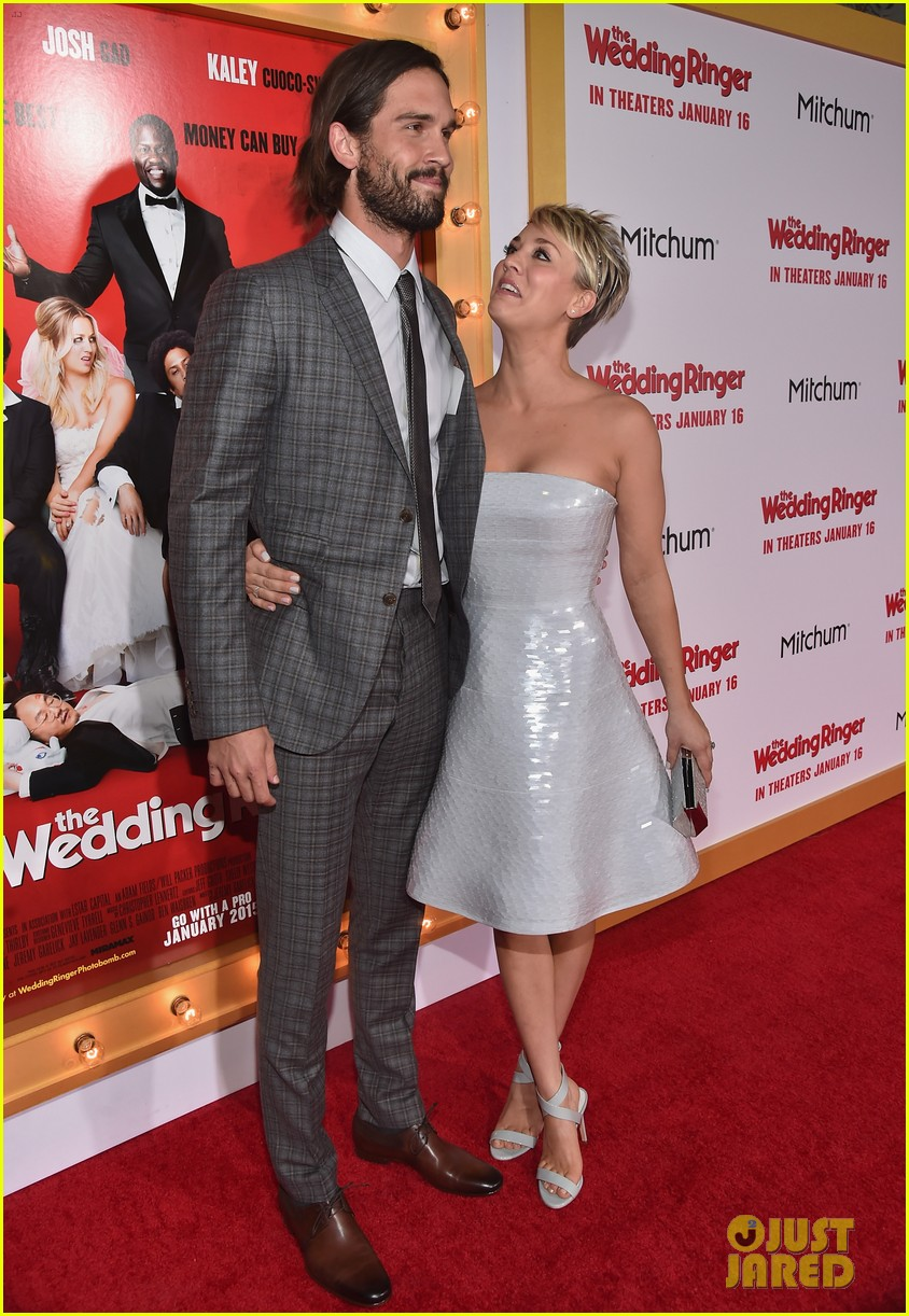 Wedding Ringer Cast Gets Amy Pascal S Support At Premiere Photo 3273779 Eniko Parrish Josh Gad Kaley Cuoco Kevin Hart Mimi Rogers