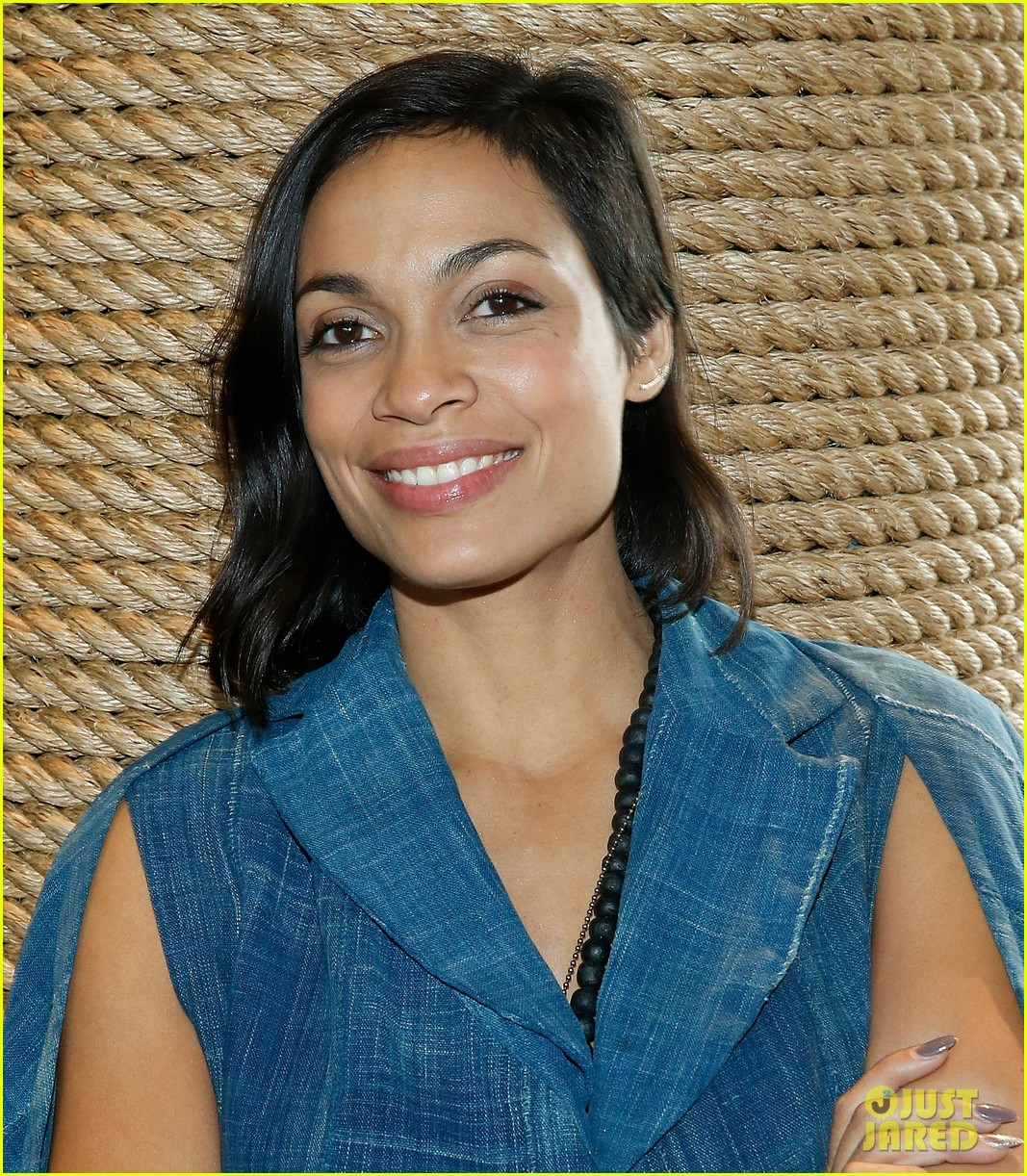 rosario dawson wishes the wilderness society a happy birthday photo