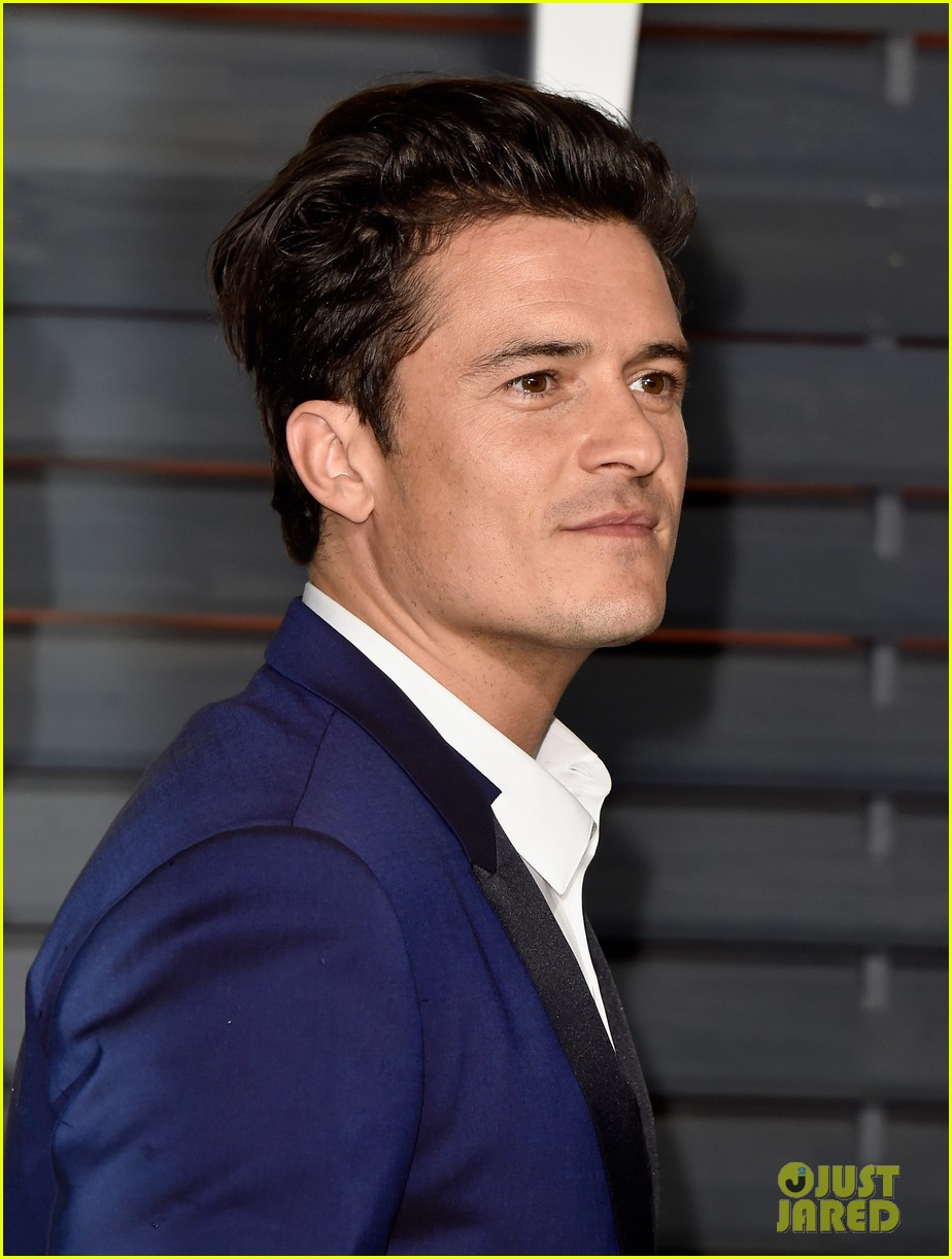 Orlando Bloom Looks Dapper for Vanity Fair's Oscars 2015 Party: Photo ...