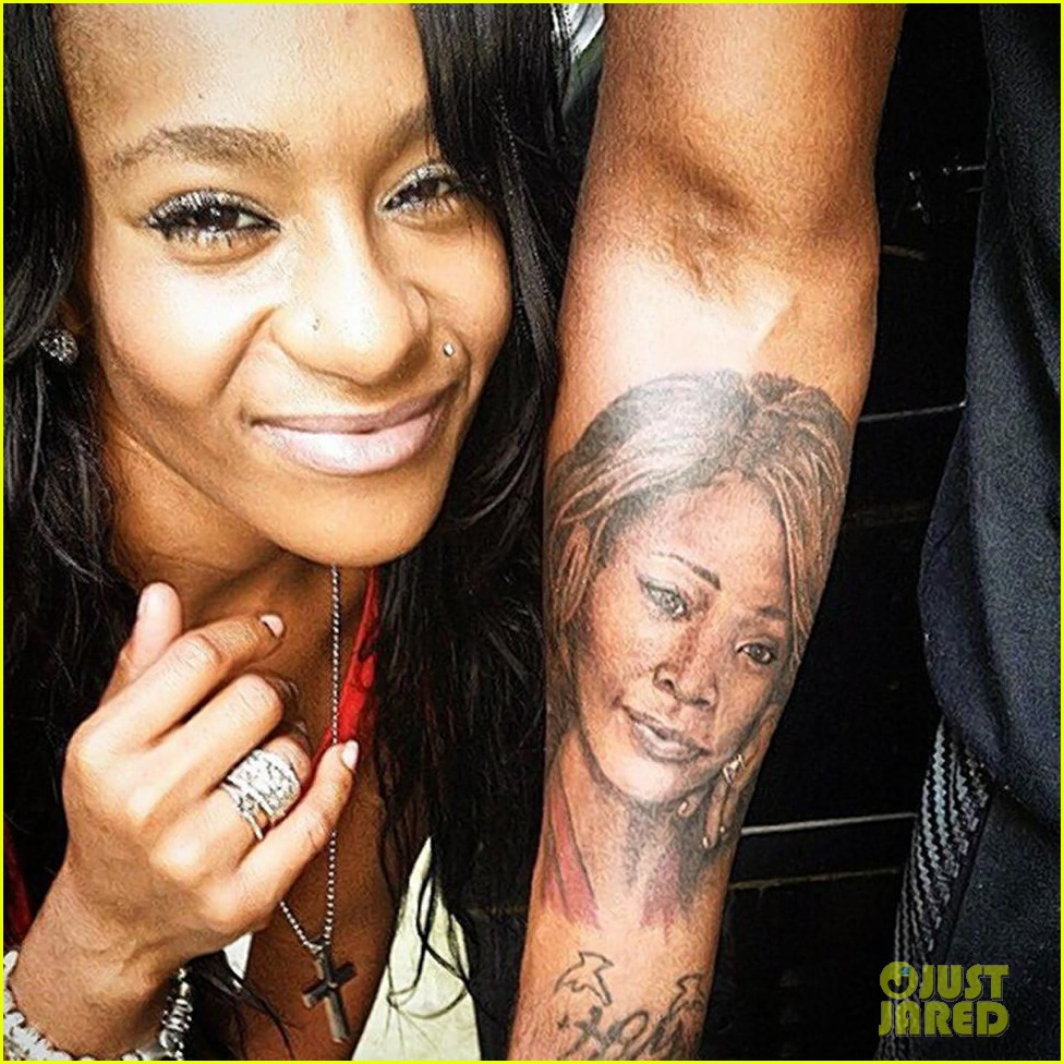 Nick gordon tattooed bobbi kristina brown 39 s name on his for Tattooed pussy lips