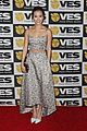 jamie chung karine vanasse get glam to present at the visual effects society 25