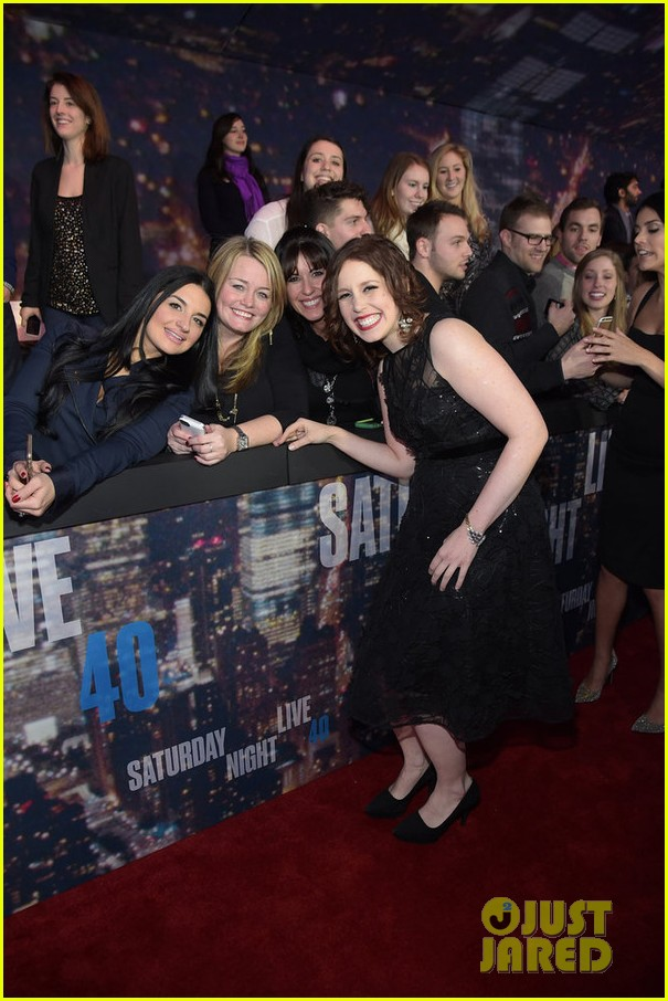 snl current cast walks nbc snl 40 red carpet 113305292