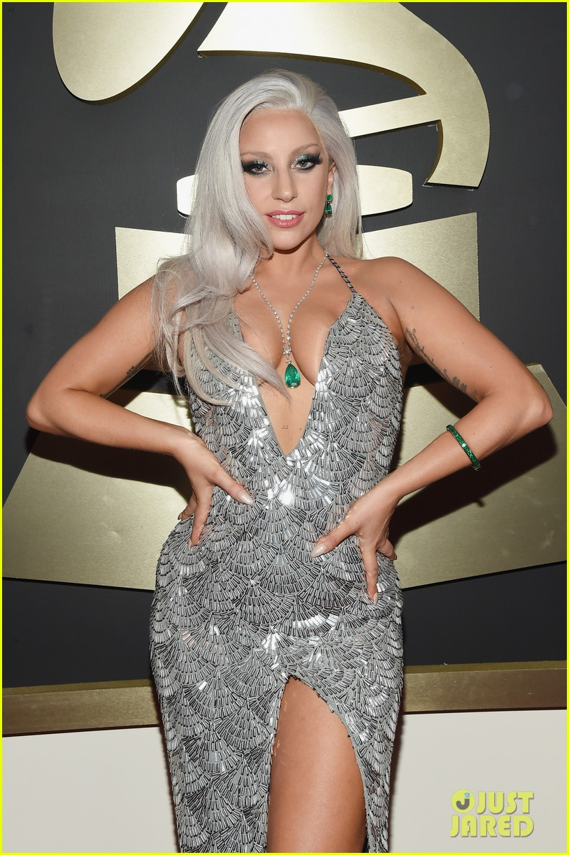 Lady Gaga Walks Grammys 2015 Carpet with Tony Bennett!: Photo 3299366 ...