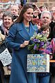 kate middleton baby bump royal blue peacoat 04
