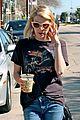 emma roberts evan peters enjoy coffee separately ahead of her 24th birthday 17