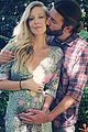 pregnant leah jenner balances coffee on her baby bump 02