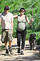 milla jovovich paul ws anderson hike 09