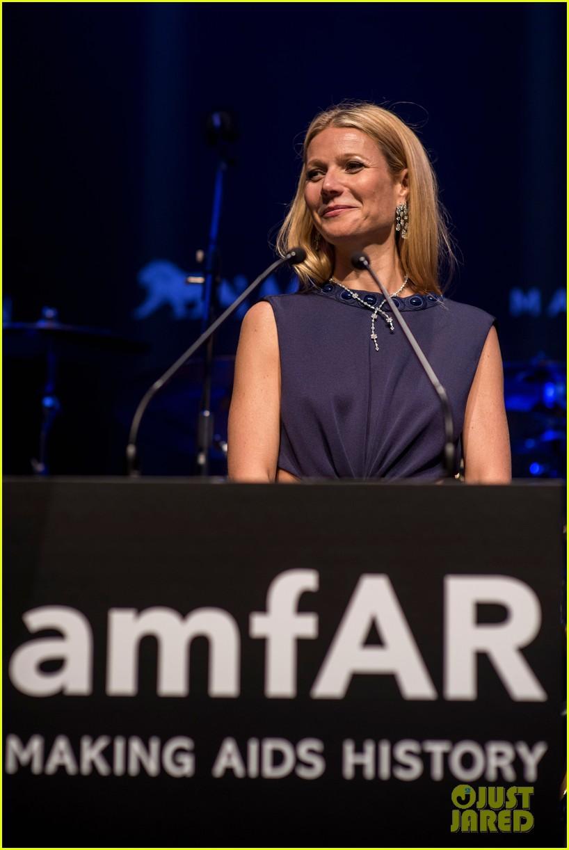 Gwyneth Paltrow Helps Raise $4 Million at amfAR Hong Kong Gala Gwyneth Paltrow