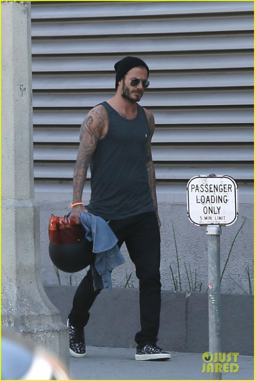 David Beckham 39 S Shirt Turns See Through From Sweat Photo