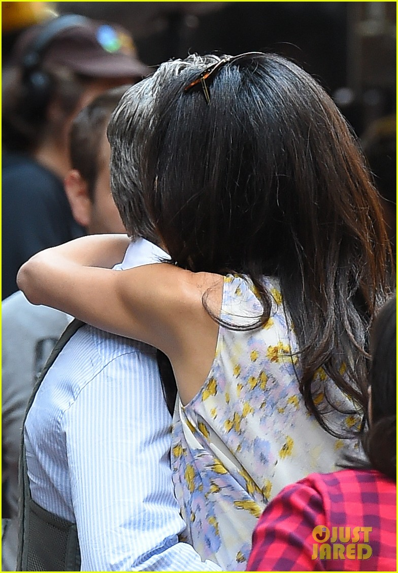 George Clooney on location: Money Monster NYC April 18, 2015 George-clooney-gets-touchy-feely-with-amal-35