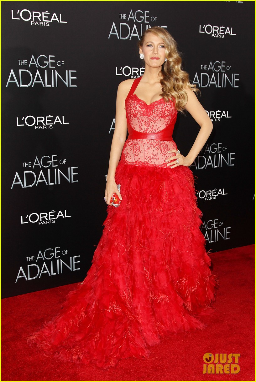 blake lively age of adaline premiere 39