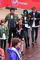 beckham family romeo london marathon 33