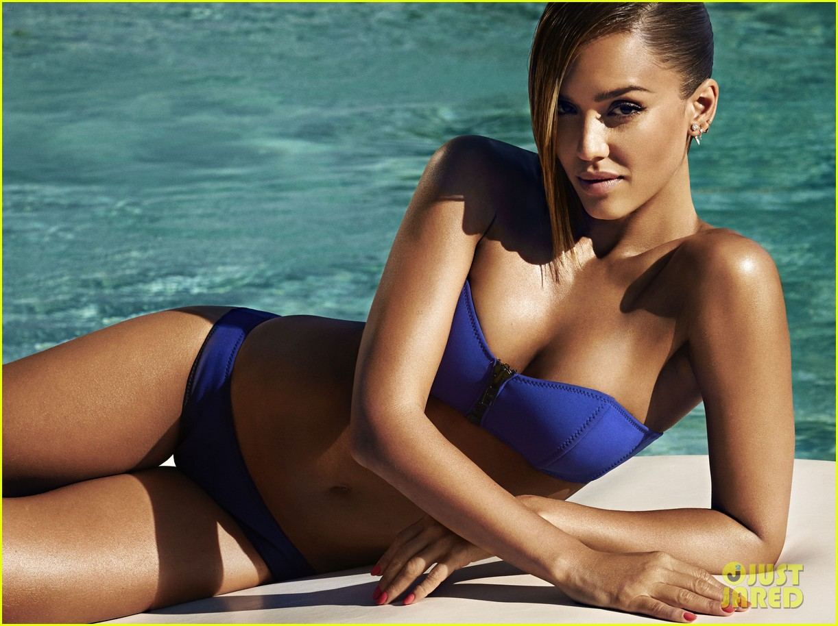Jessica Alba Bikini Bodies Pic 2 of 35