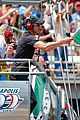 patrick dempsey jordin sparks hearts racing at indy 500 04
