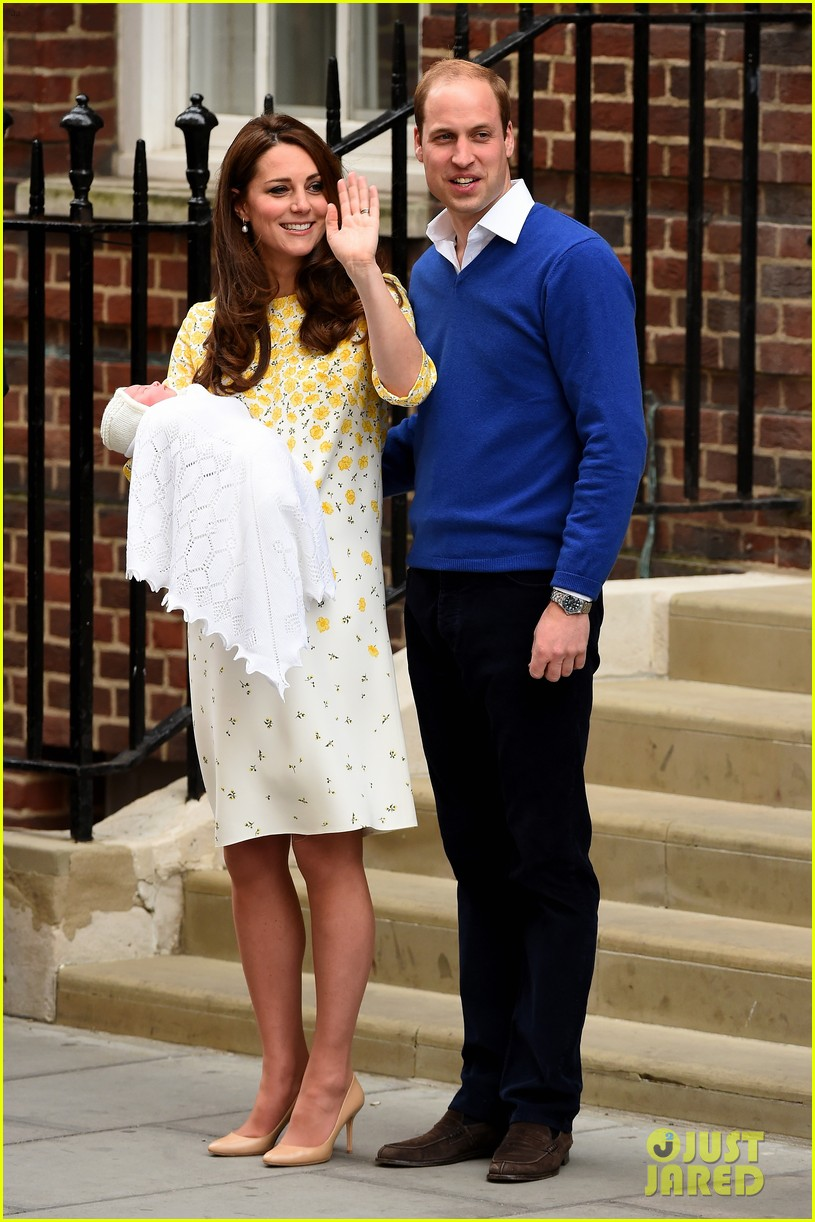 royal baby girl first appearance with kate middleton prince william 063361750