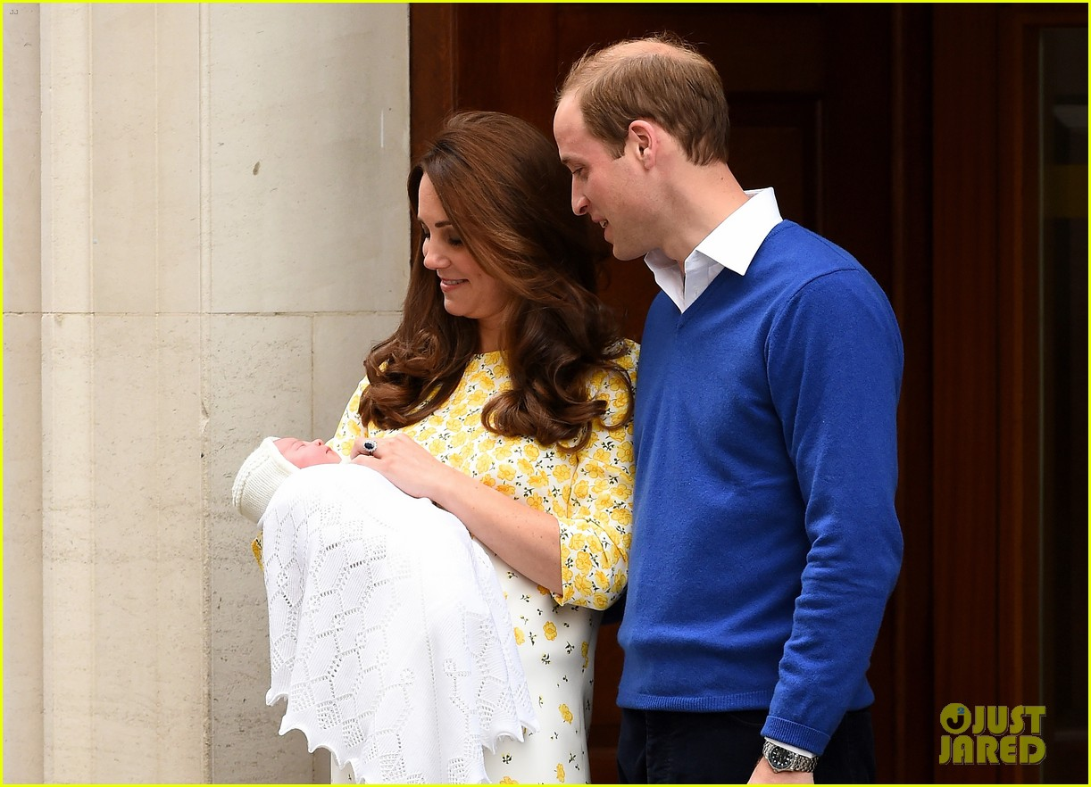 royal baby girl first appearance with kate middleton prince william 103361754