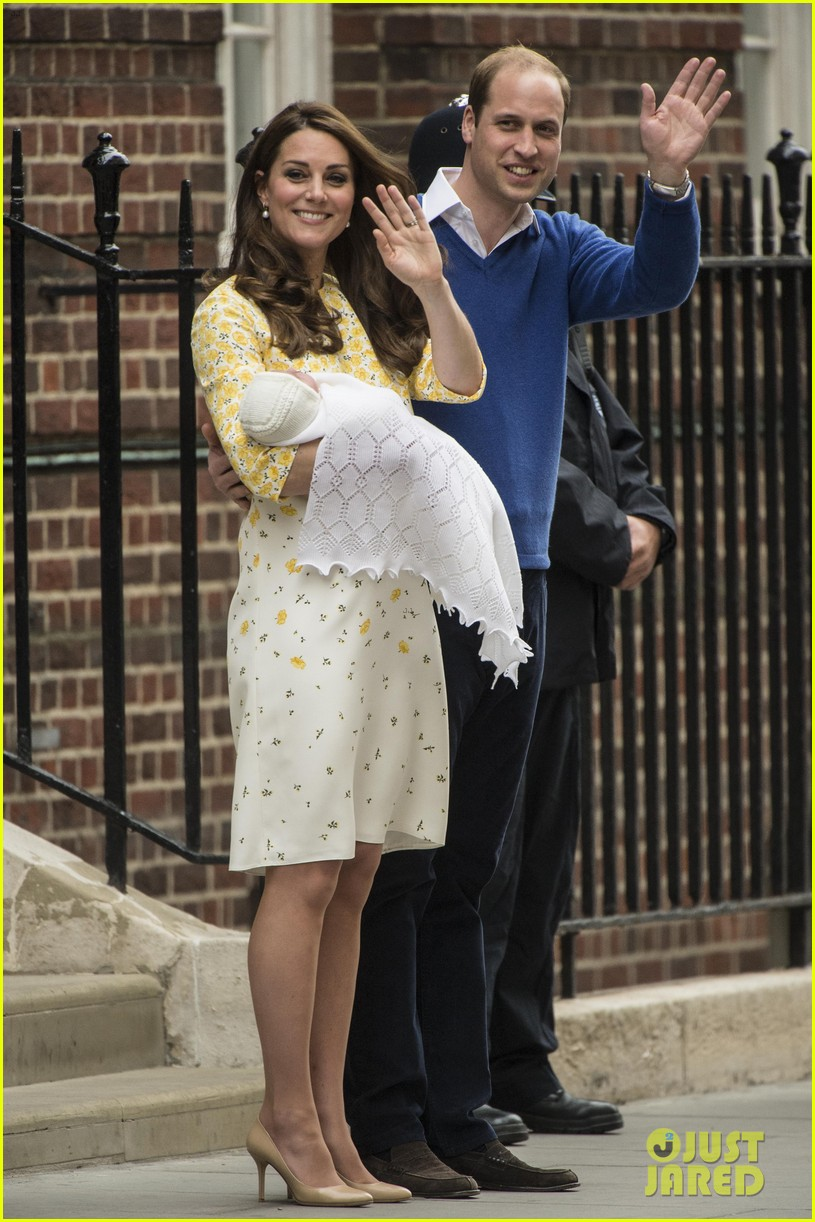royal baby girl first appearance with kate middleton prince william 233361767