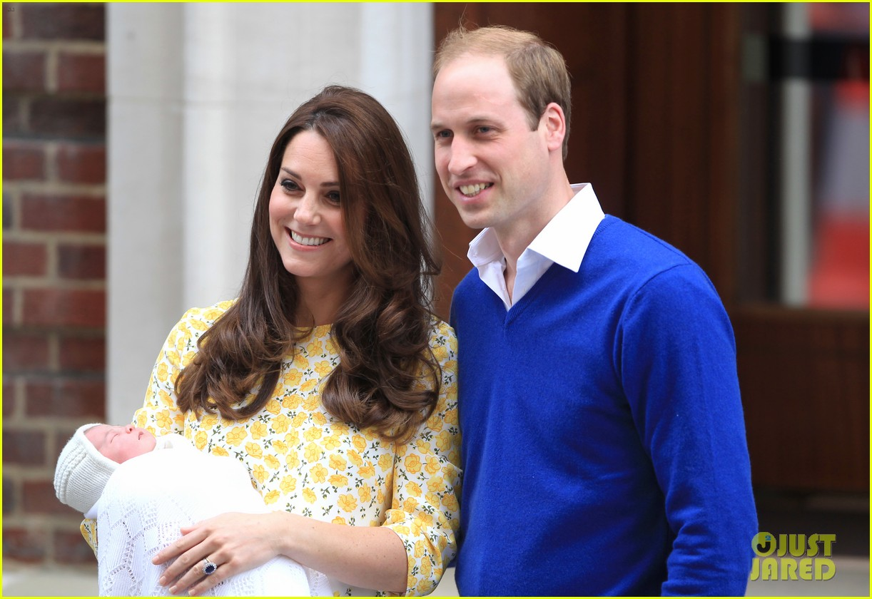 royal baby girl first appearance with kate middleton prince william 263361770