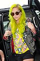 kesha debuts neon green hair 06