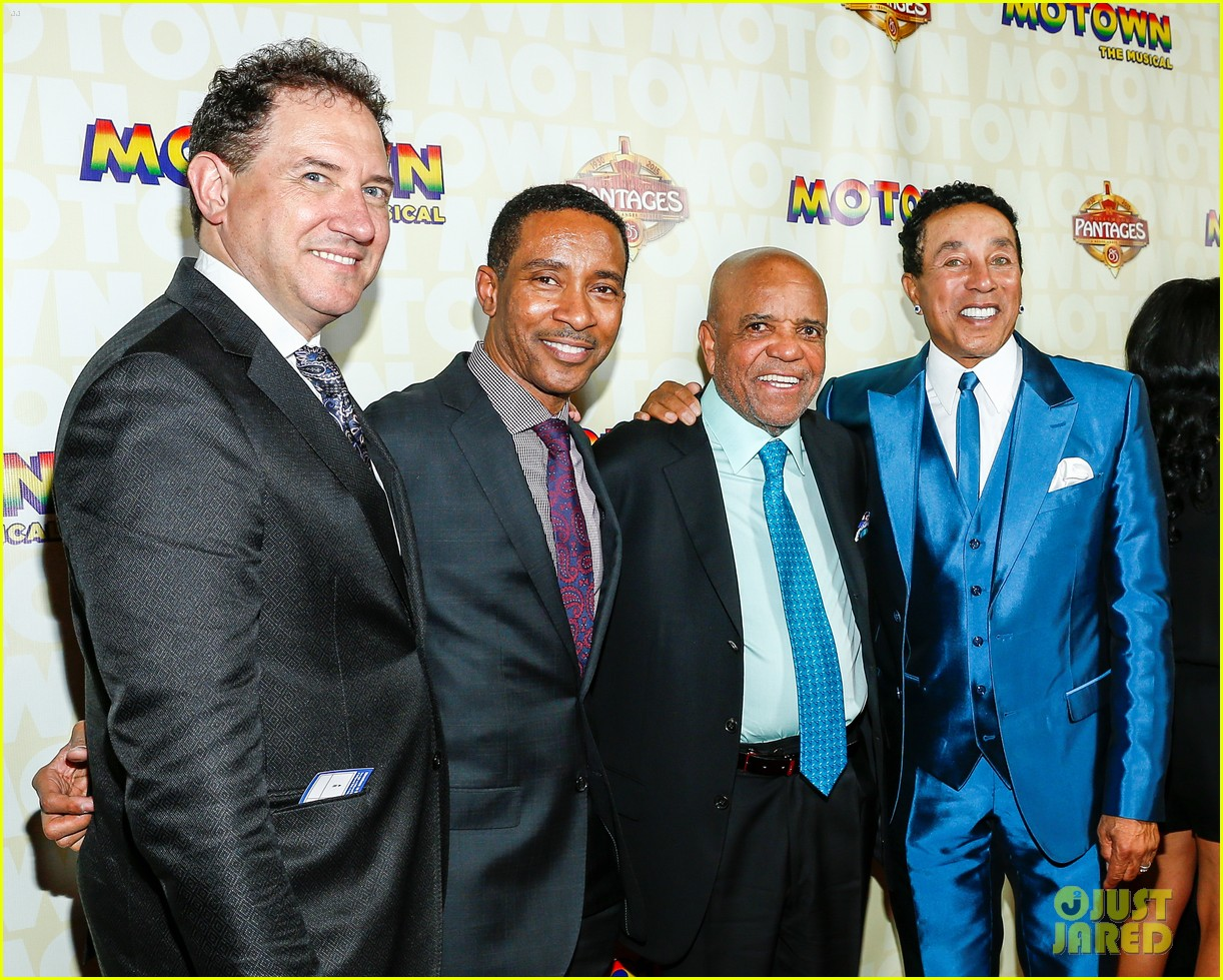 Gordy Movie Cast throughout redfoo supports dad berry gordy at 'motown' l.a. opening!: photo