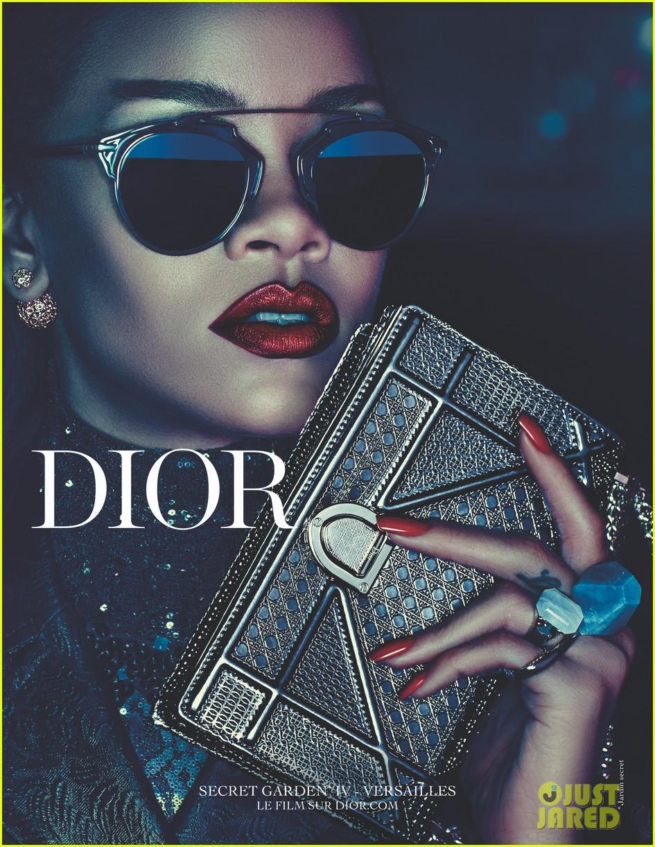 Rihanna es la nueva musa de DIOR. Rihanna-dior-campaign-08