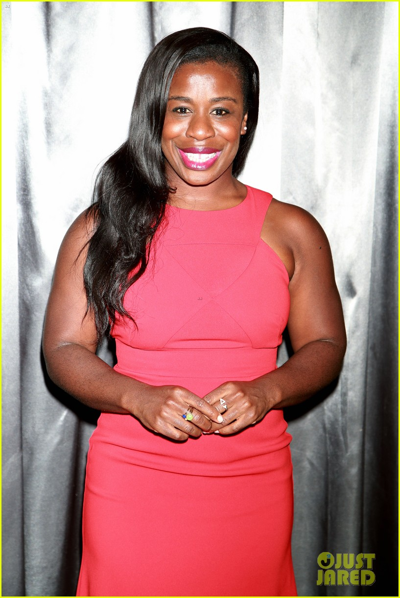 Uzo Aduba & Michael C. Hall Have Themselves a Theatre Night at 'The ...