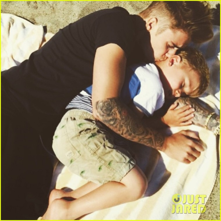 Justin bieber shares brother bonding time with jaxon photo 3385736