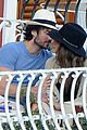ian somerhalder nikki reed pda italian vacation 04