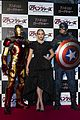 elizabeth olsen stuns at avengers age of ultron japan premiere 11