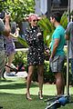 nicole richie candidly nicole filming the grove 01