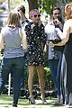 nicole richie candidly nicole filming the grove 21