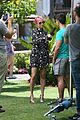nicole richie candidly nicole filming the grove 33