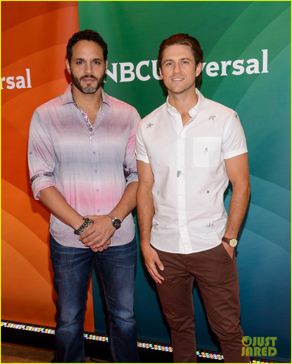 gracelands aaron tveit daniel sunjata heat up the nbc 053401538