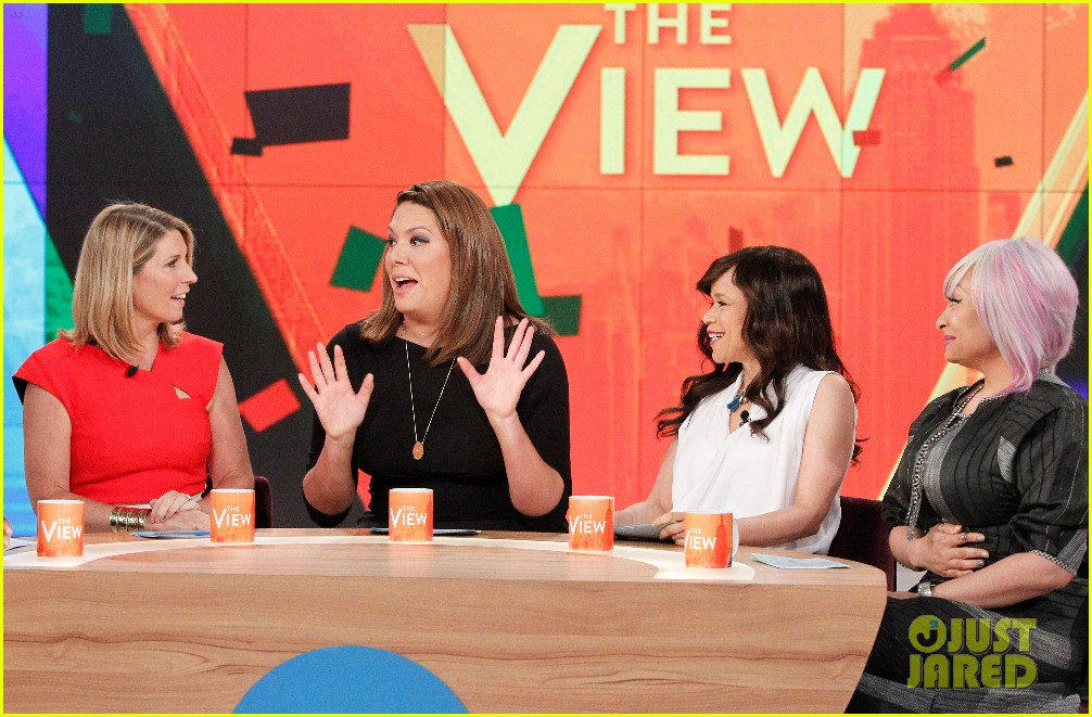 The view liberal michelle collins comedian the view michelle collins