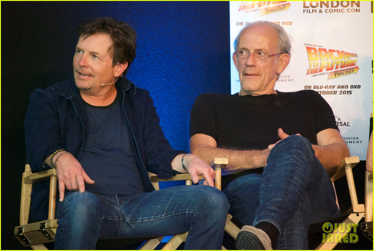 Back to the future cast reunites just before october 21 2015