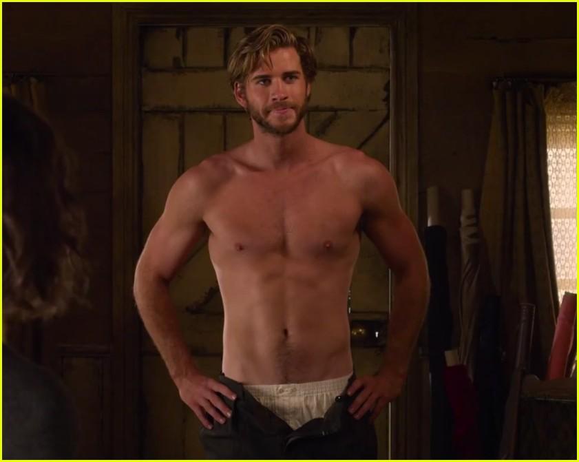 Liam Hemsworth ...