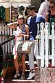 jesse metcalfe cara santana lunch the ivy 15