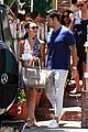 jesse metcalfe cara santana lunch the ivy 16