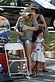 hilary duff doctor with luca farmers market 14