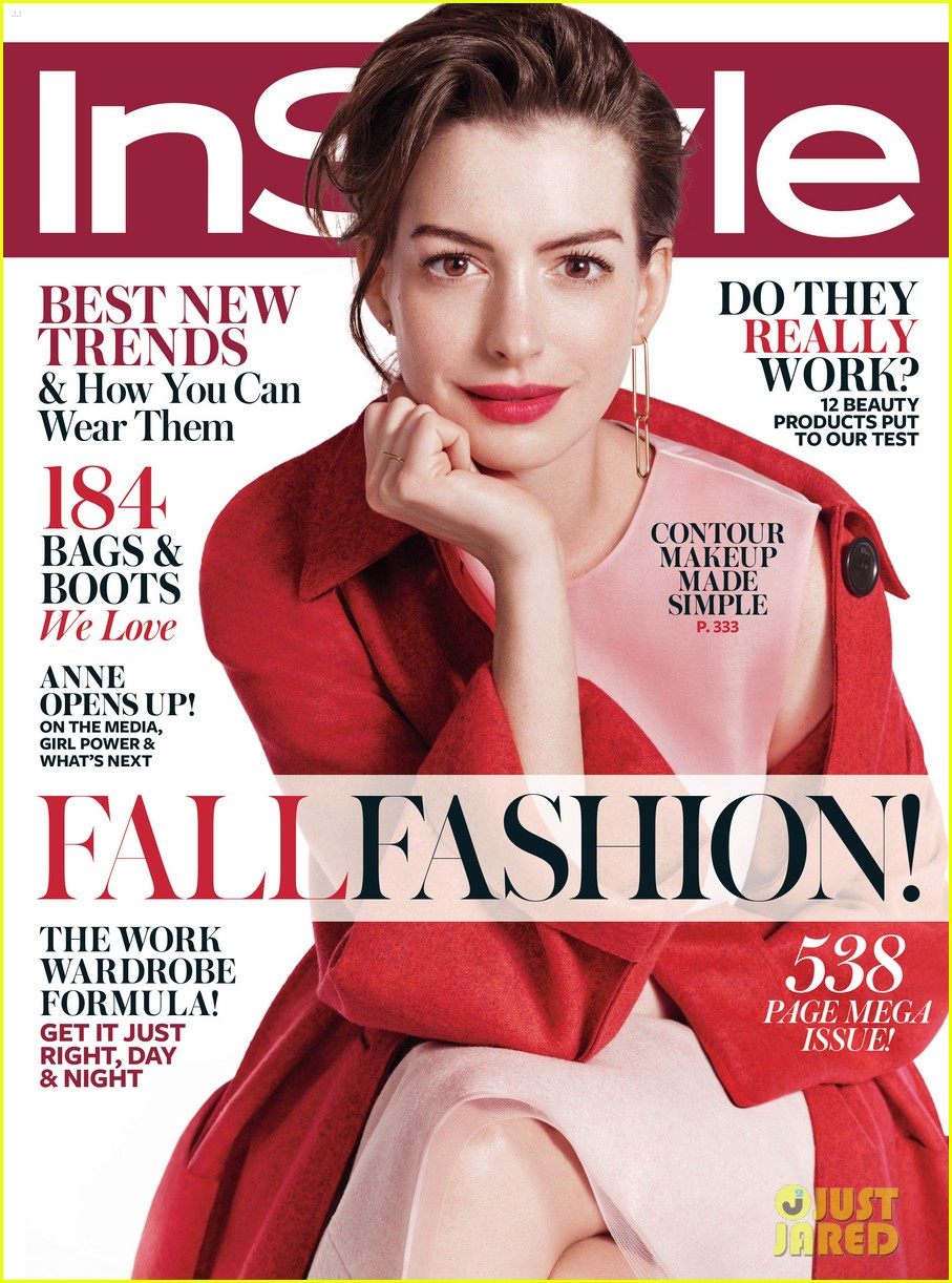 anne hathaway felt like she was being hunted by the media photo 3432777 anne hathaway. Black Bedroom Furniture Sets. Home Design Ideas