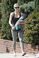 charlize theron yoga class after adopting 08