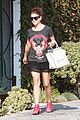 kate walsh red studded boots 12