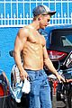 derek hough goes shirtless after dwts practice 15