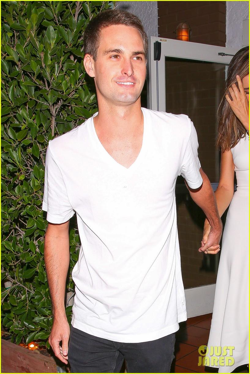 Miranda Kerr & Snapchat's Evan Spiegel Look So Happy Together on Their ...