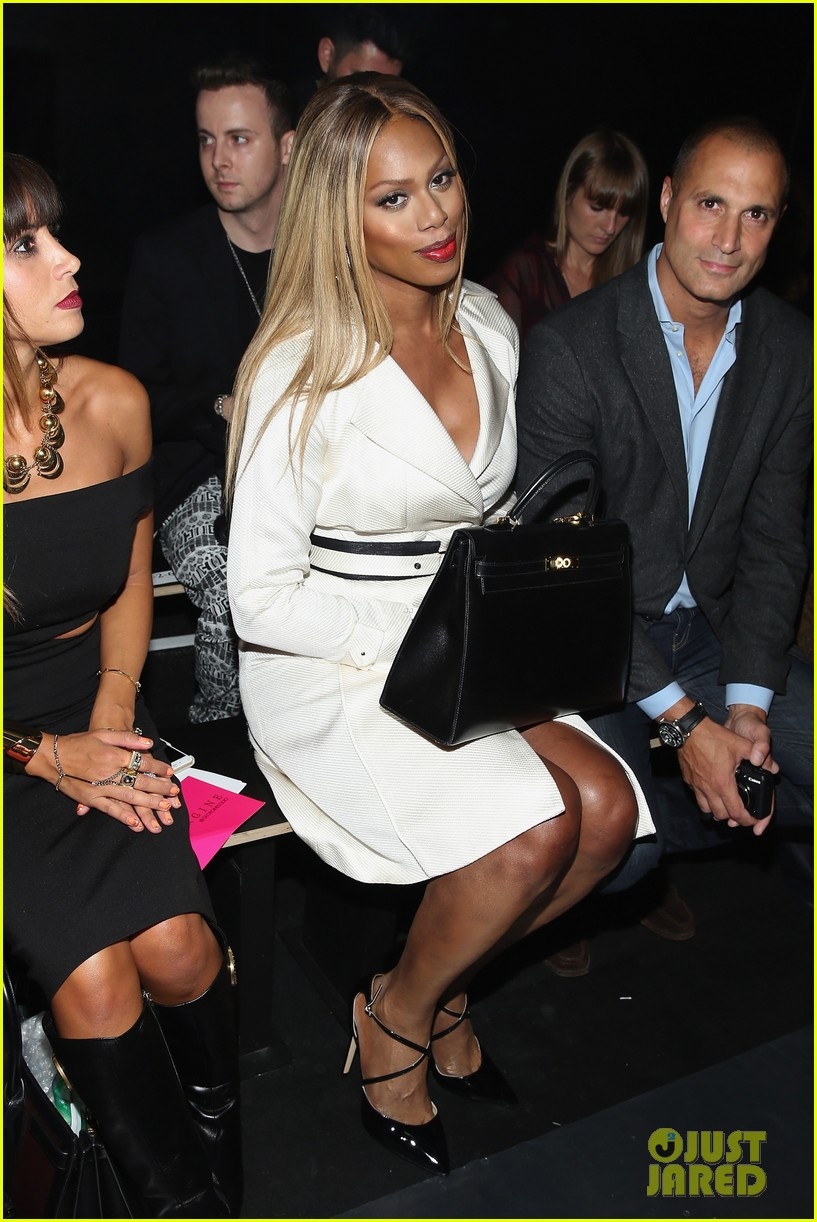 laverne cox natasha lyonne meet up during fashion week 063460411