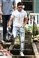 zac efron biceps rose byrne neighbors 2 set 16