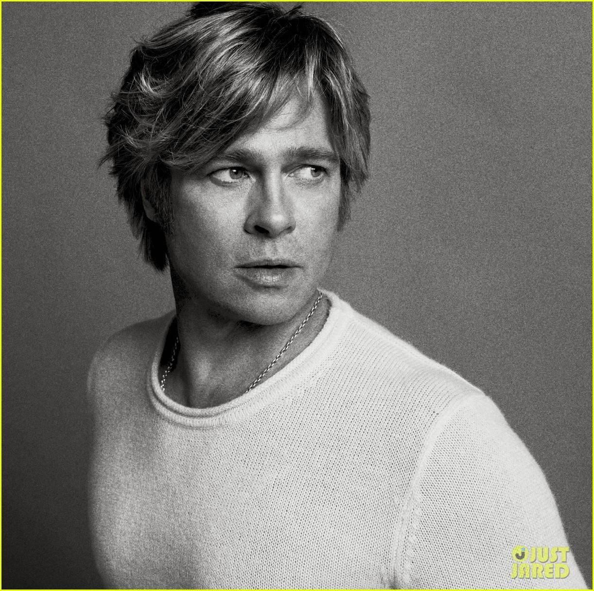 Brad Pitt V Magazine Winter 2015